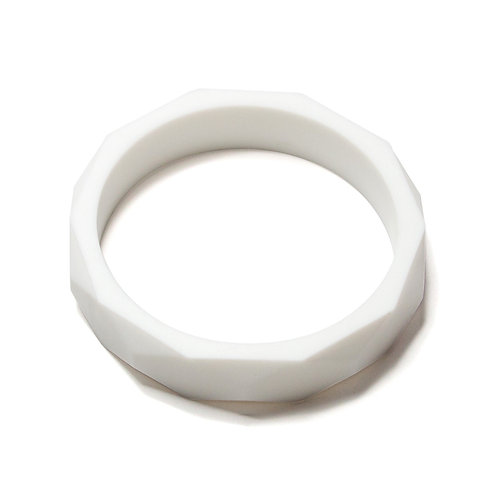 """Bracelet de Dentition """"Bangle"""" - Lait"""