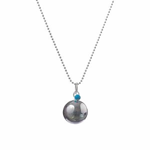 Angel Caller Pregnancy Necklace BABY PEARL - Turquoise