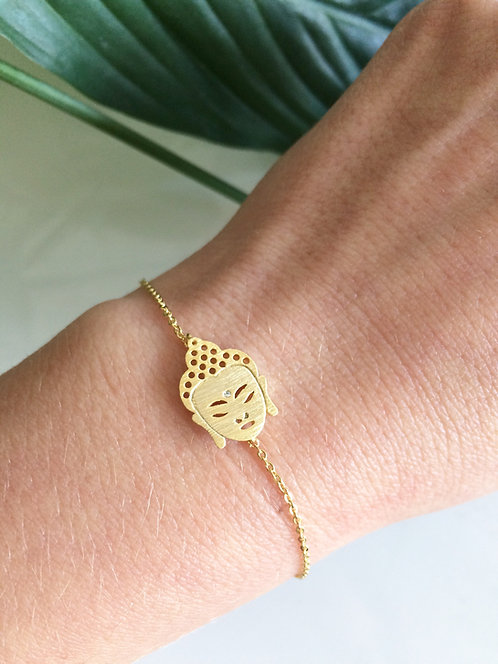 Buddha Bracelet - Gold