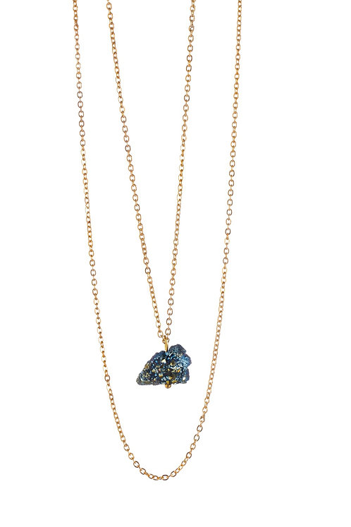 My Little Crystal Necklace - Blue