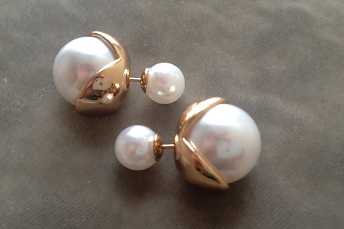 Bubble Earrings - Tulips