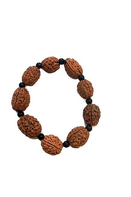 Mala Bracelet for Sacred Prayer ☾ Rudraksha Men