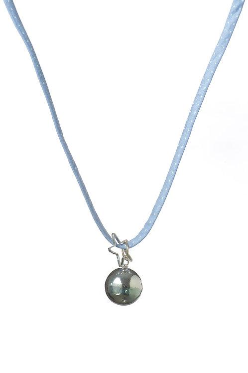 Pretty Liberty Bola Klangkugel - Polka Dots Blau
