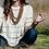 Thumbnail: Mala Necklace for Sacred Prayer ☾ Rudraksha
