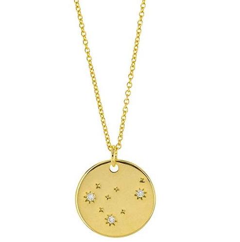 Constellation Zodiac Sign Necklace - Capricorn