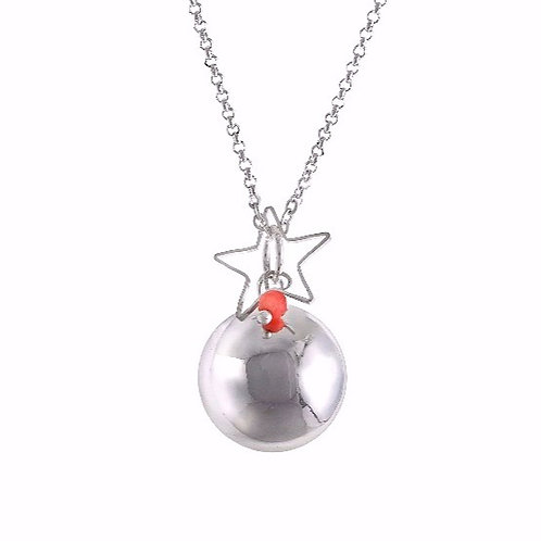 Angel Caller Pregnancy Chime - Coral