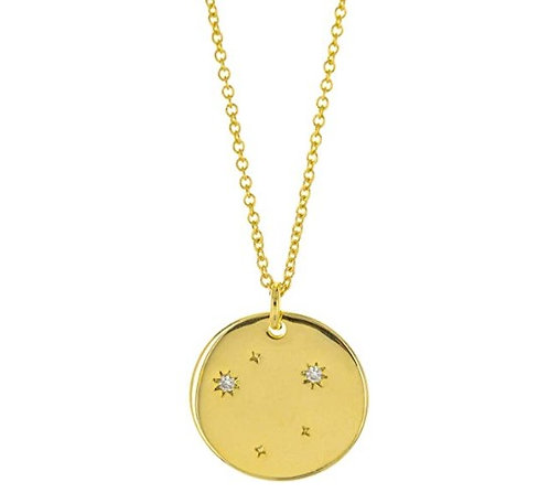 Constellation Zodiac Sign Necklace - Libra