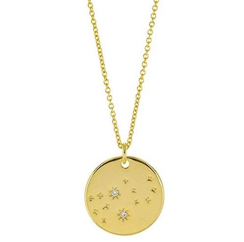 Constellation Zodiac Sign Necklace - Virgo