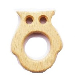 "Montessori Holz Beissring ""Eule"""