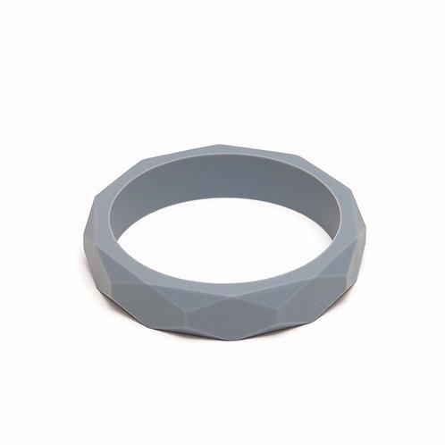 Silikon Mama Armband - Grau
