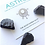 Thumbnail: Crystal Therapy Kit against Electromagnetic Waves ☾ - Shungite