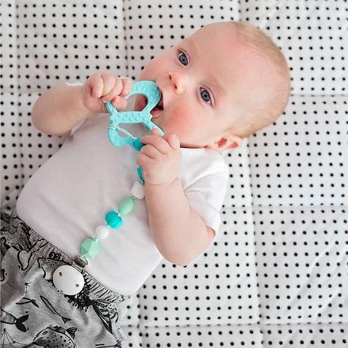 Baby Beißspielzeug SCHMETTERLING - Aqua