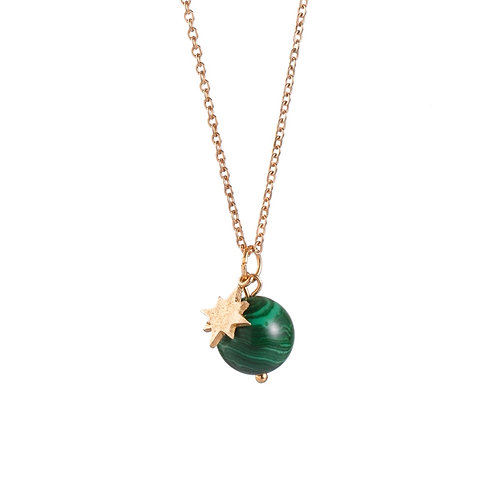 Collana WILD MOON ☾ Malachite