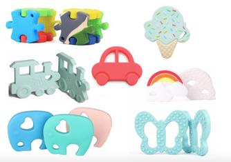 Nursery Magazine featuring The Good Karma Shop's New Baby Teethers Collection!