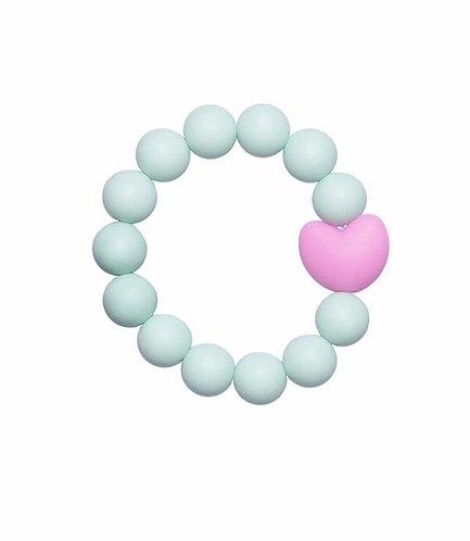 """Children Bracelet """"Little Diva"""" - Mint"""