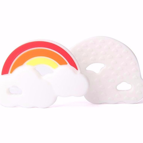 "Baby Beißring ""Regenbogen"" - Orange"