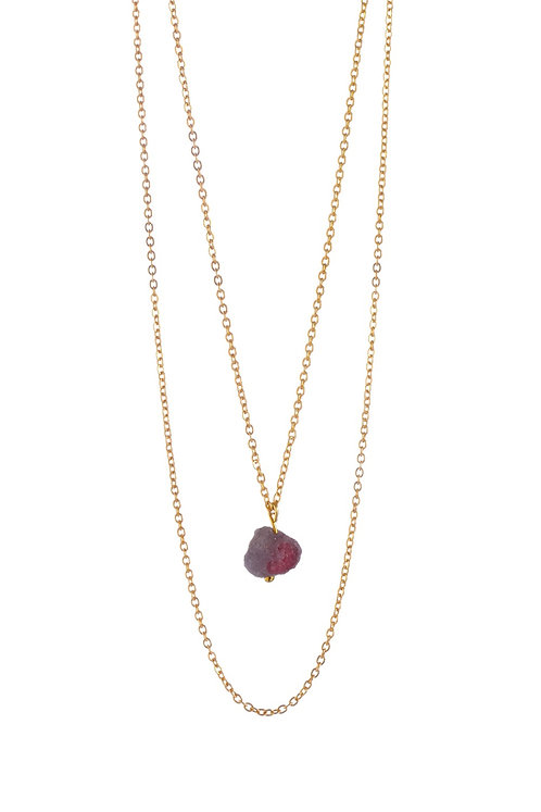 My Little Crystal Necklace - Pink