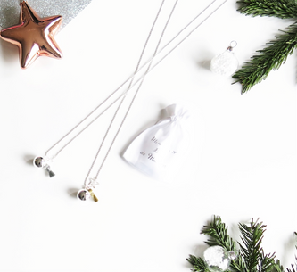 Exclusive Christmas Pregnancy Necklace Collection : The Good Karma Shop x En Mode Française