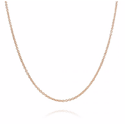 Link Chain Necklace - 18K Rosé Gold Plated