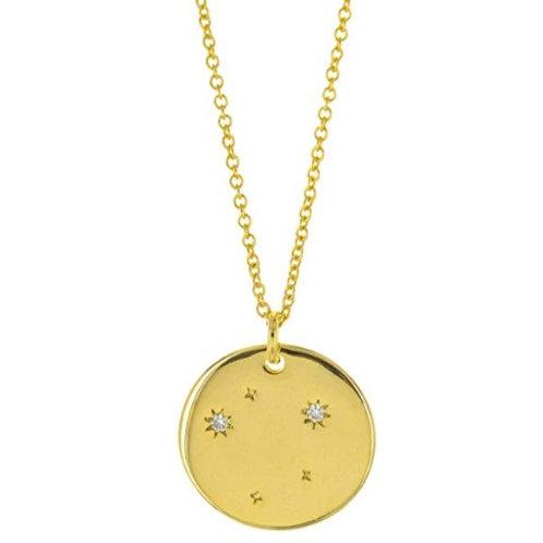 "Collier ☾ ""Astro"" - Balance (Signe du Zodiaque)"