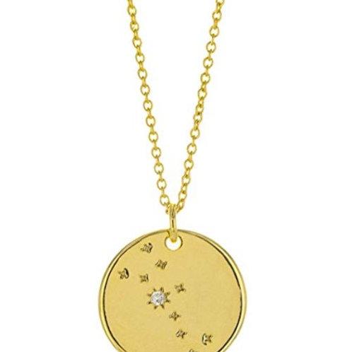 "Collier ☾ ""Astro"" - Taureau (Signe du Zodiaque)"