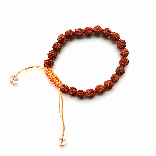 Mala Bracelet for Sacred Prayer ☾ Rudraksha