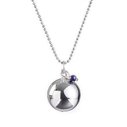 Angel Caller Pregnancy Necklace BABY PEARL - Lapis Lazuli