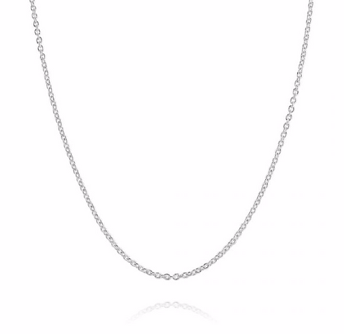 Link Chain Necklace - Sterling Silver 925