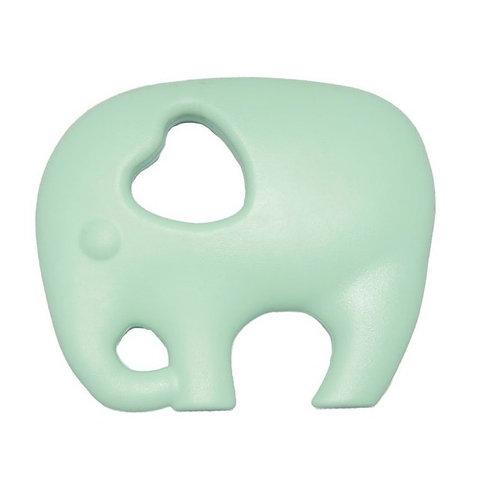 Non Toxic Teether Elephant - Mint
