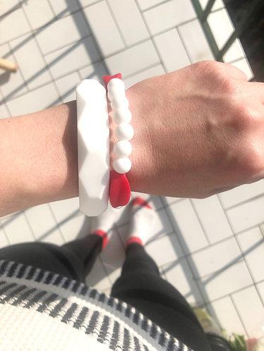 Bracelet de Dentition MYLA - Rouge