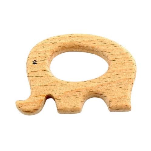 "Montessori Holz Beissring ""Elefant"""