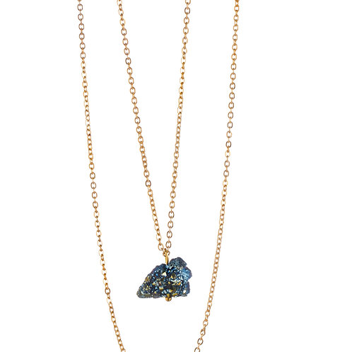 """Collier de Crystal Therapy ☾ """"My Little Crystal"""" - Lapis Lazuli"""