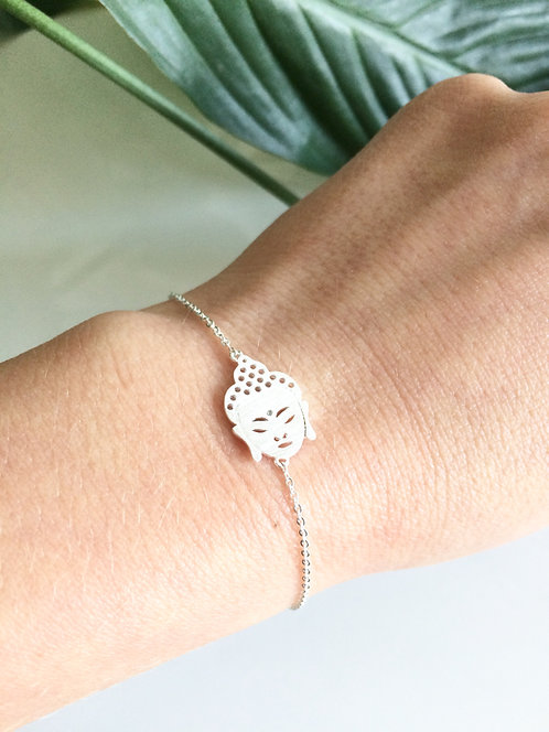 Buddha Bracelet - Silver