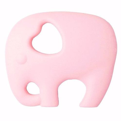 Jouet de Dentition Non-Toxique ELEPHANT - Rose