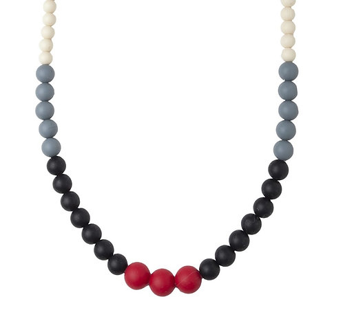 Teething Necklace Manhattan - Red