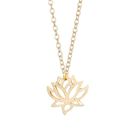 "Collier de Méditation ☾ ""Blooming Lotus"""