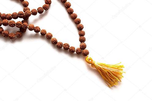 Mala Necklace for Sacred Prayer ☾ Rudraksha