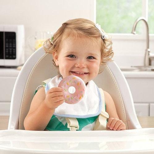 """Baby Beißring """"Donut"""" - Erdbeere"""