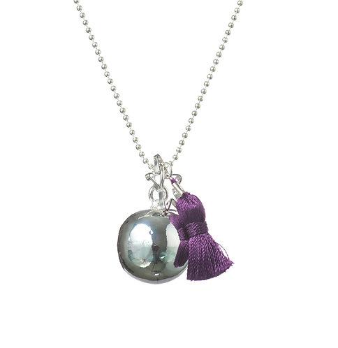 Pregnancy Baby Chime Necklace GYPSY MAMA - Violet