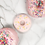 "Thumbnail: Baby Beißring ""Donut"" - Erdbeere"