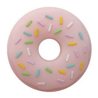 """Sonaglio Massaggiagengive in Silicone """"Donut"""" - Fragola"""