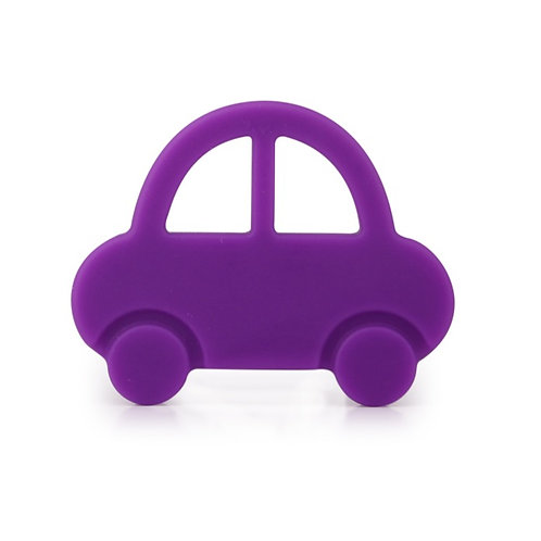 """Baby Teether """"Baby's First Car"""" - Violet"""