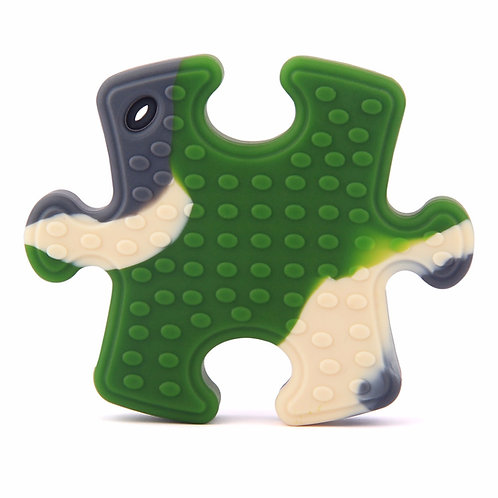 Sensory Silicone Baby Teething Toy Puzzle Clip - Cameo