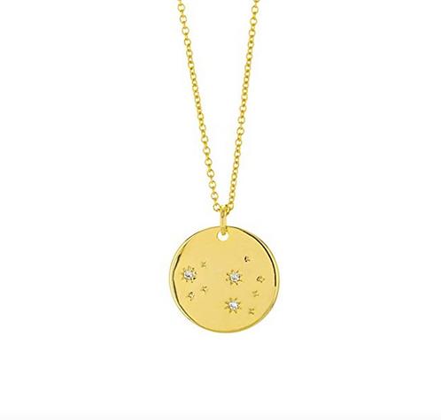 Constellation Zodiac Sign Necklace - Leo