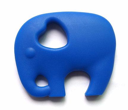 Gioco Massaggiagengive in Silicone - Elefante Blu