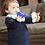 "Thumbnail: Baby Beißspielzeug ""Der Zug ChooChoo"" - Mint"