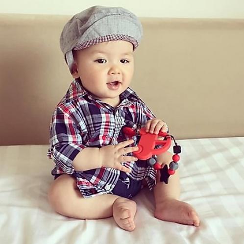 Baby Beißspielzeug AUTO - Rot