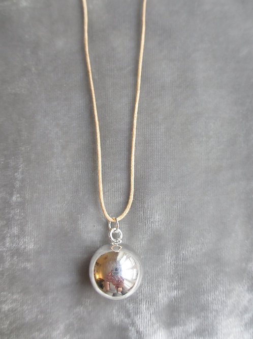 Leather Necklace - Natural Tan