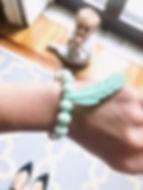 bracelet de dentition et d'allaitement s