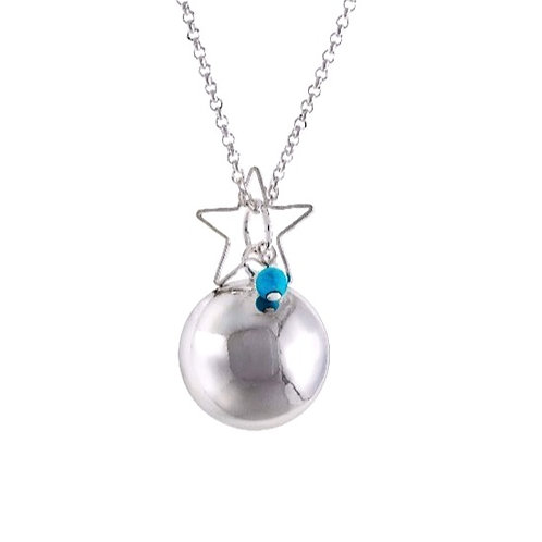 Angel Caller Pregnancy Chime - Turquoise
